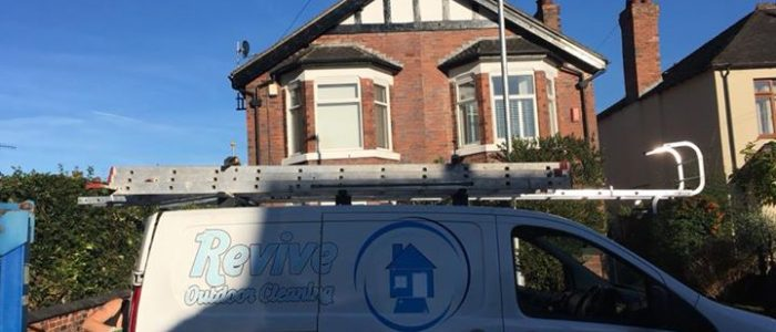 Exterior Painting by Revive Outdoor Cleaning in Staffordshire, Cheshire & Stoke on Trent